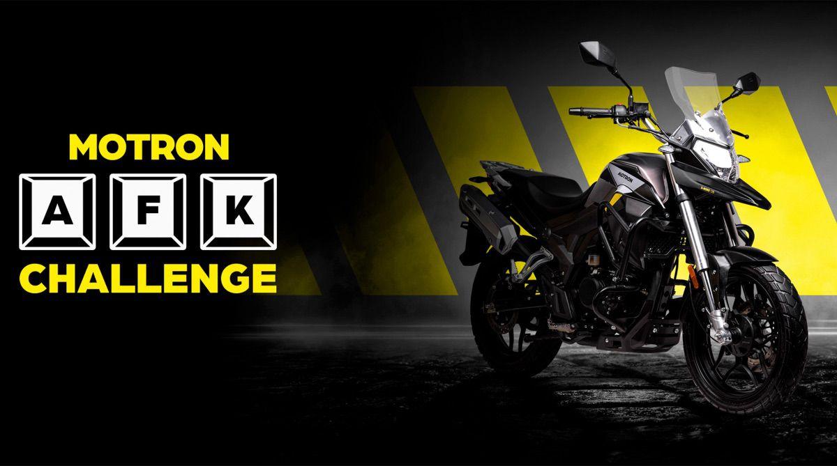 Motron AFK Challenge: el reto para gamers y jóvenes motoristas