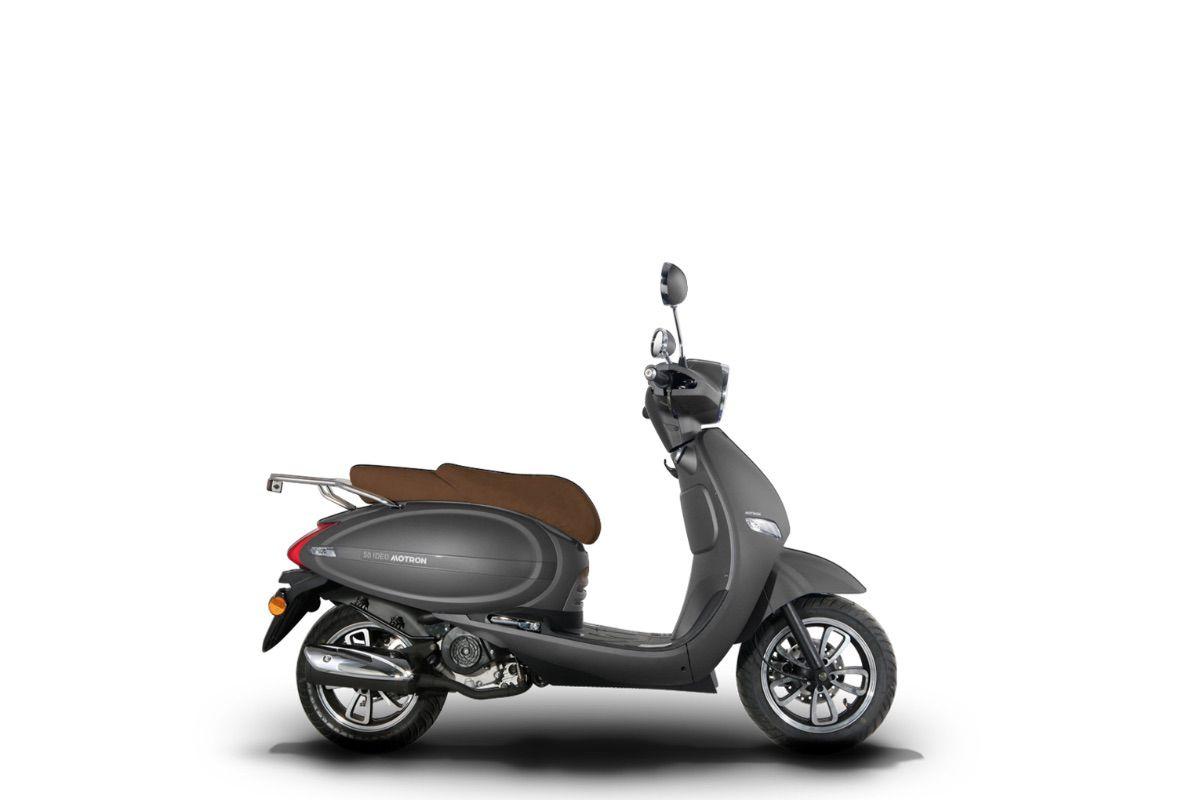"Motron lanza tres nuevos modelos... ""scooter eléctrico o de gasolina?"