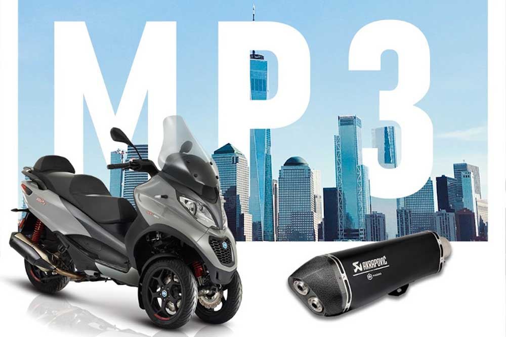 MP3 Akrapovic