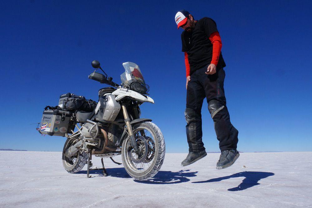Teo Romera Mr Hicks 46: Viajes en moto