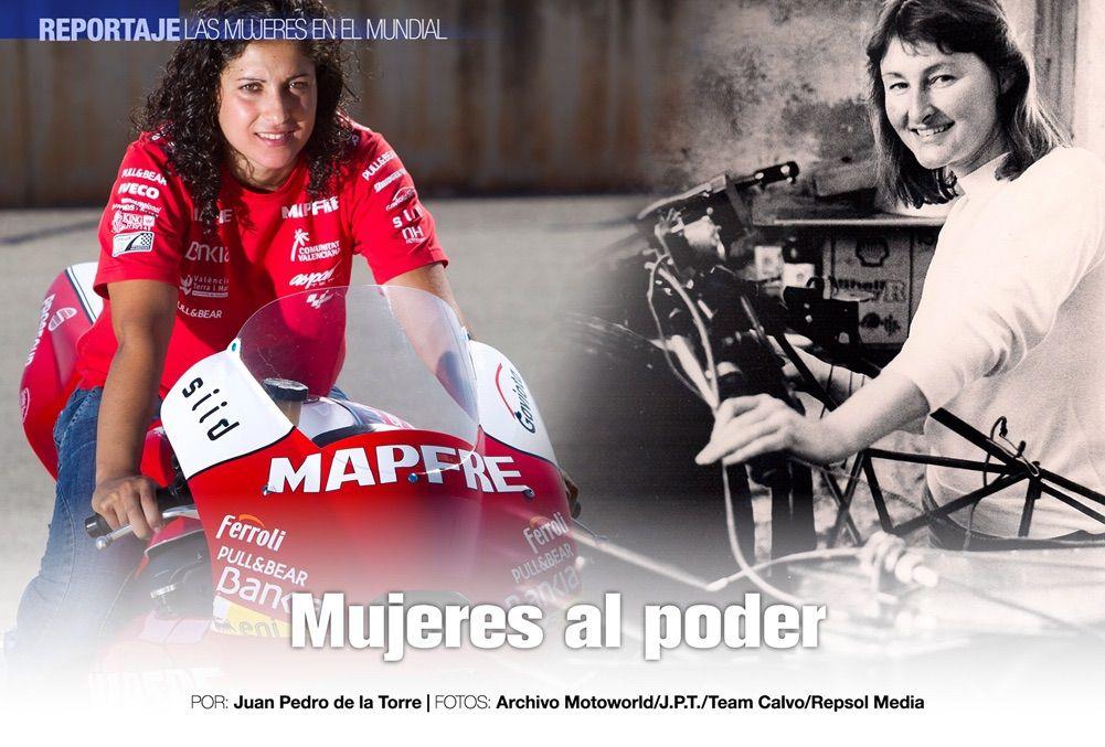 Mujeres en el Mundial de Velocidad