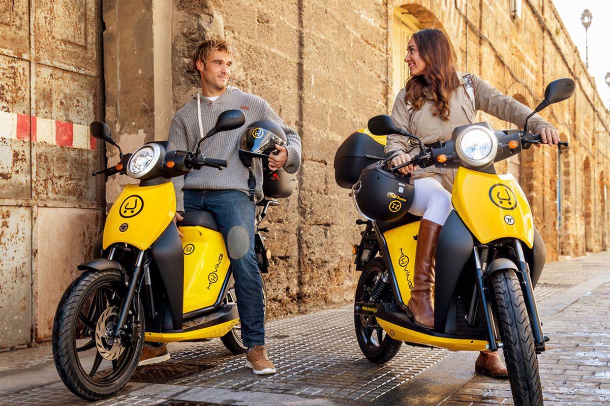 Muving presta servicios de Moto Sharing en nueve ciudades españolas