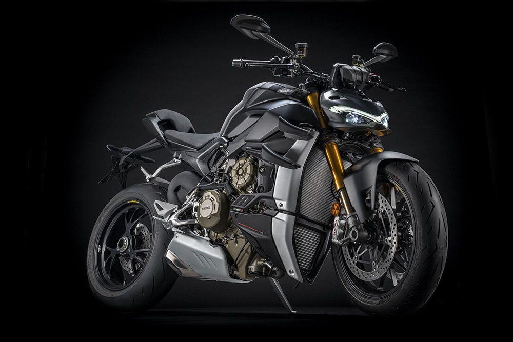 Ducati StreetFighter V4 2021: Sigilo oscuro