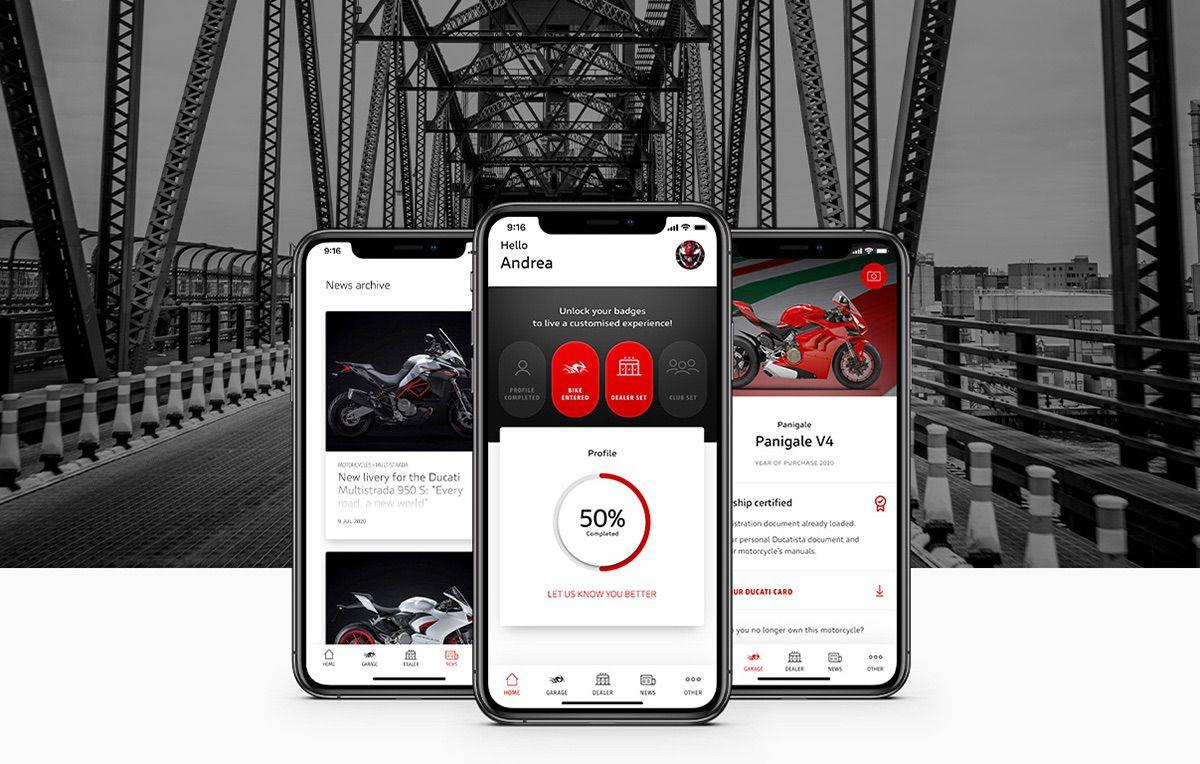 App MyDucati: El Universo Ducati en tus manos