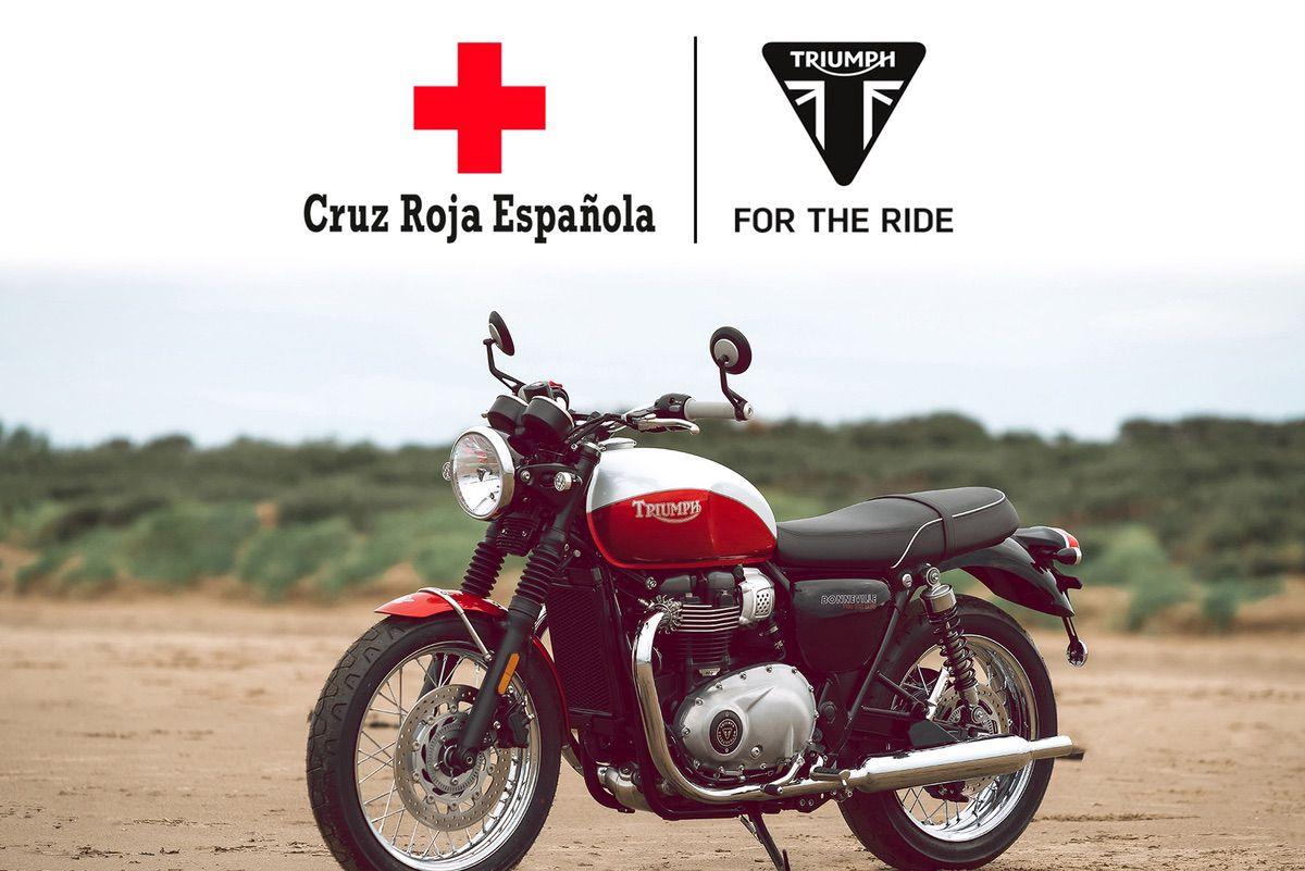 Sorteo Triumph Cruz Roja