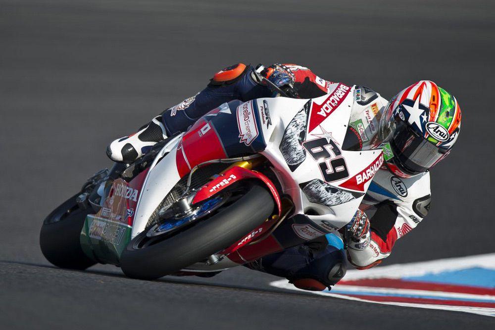 Nicky Hayden con Honda volvió al podio de SBK