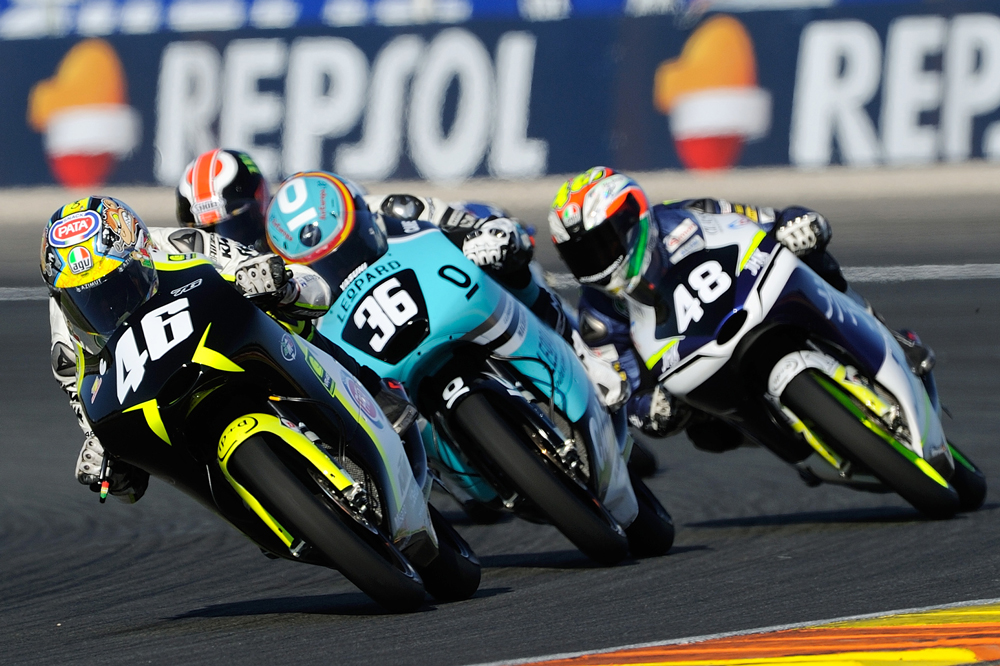 Nicolo Bulega, campeon del mundo junior Moto3