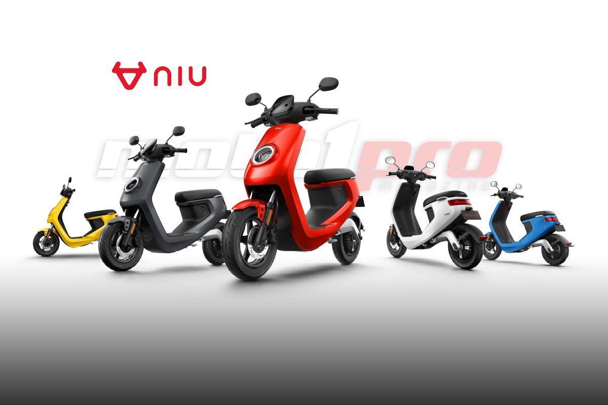 Niu scooter eléctrico