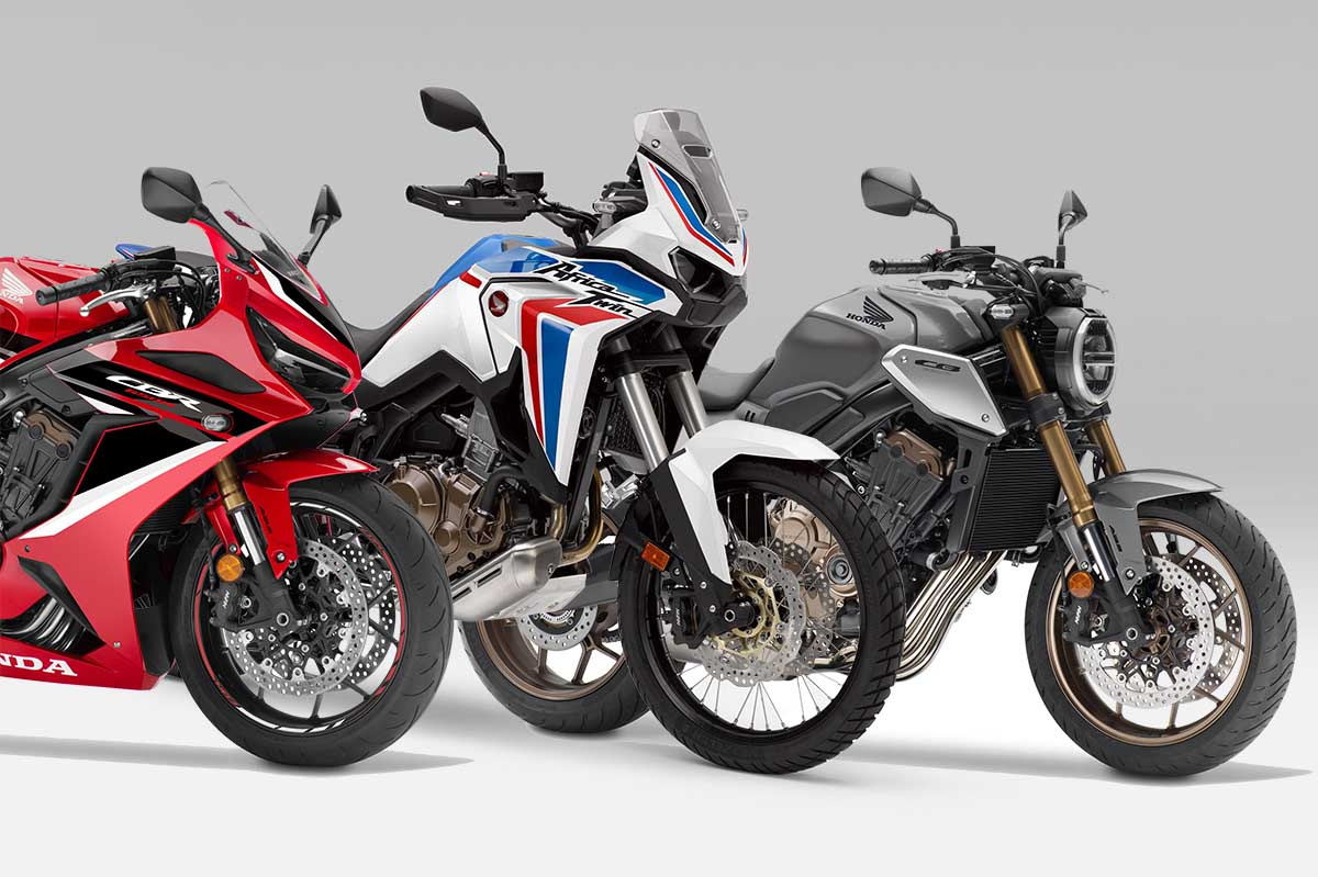 Novedades Honda 2021