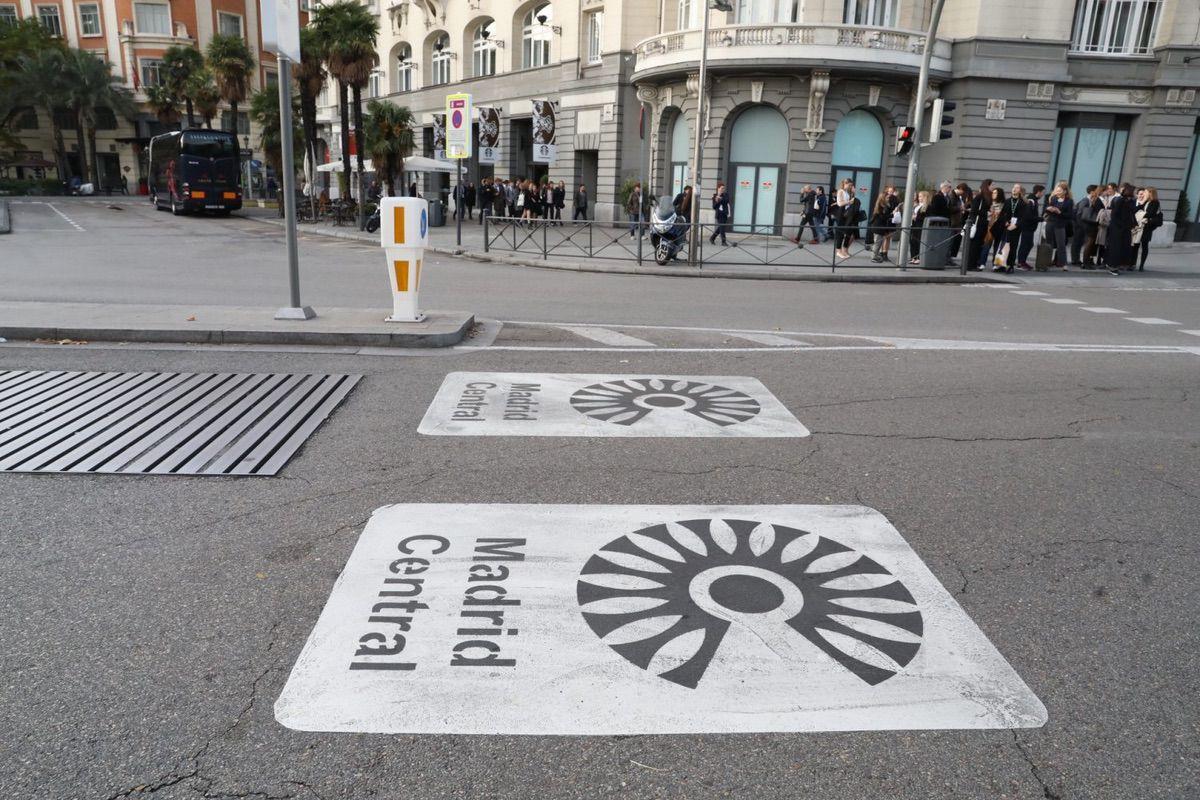 Nuevas Medidas para Madrid Central 2020