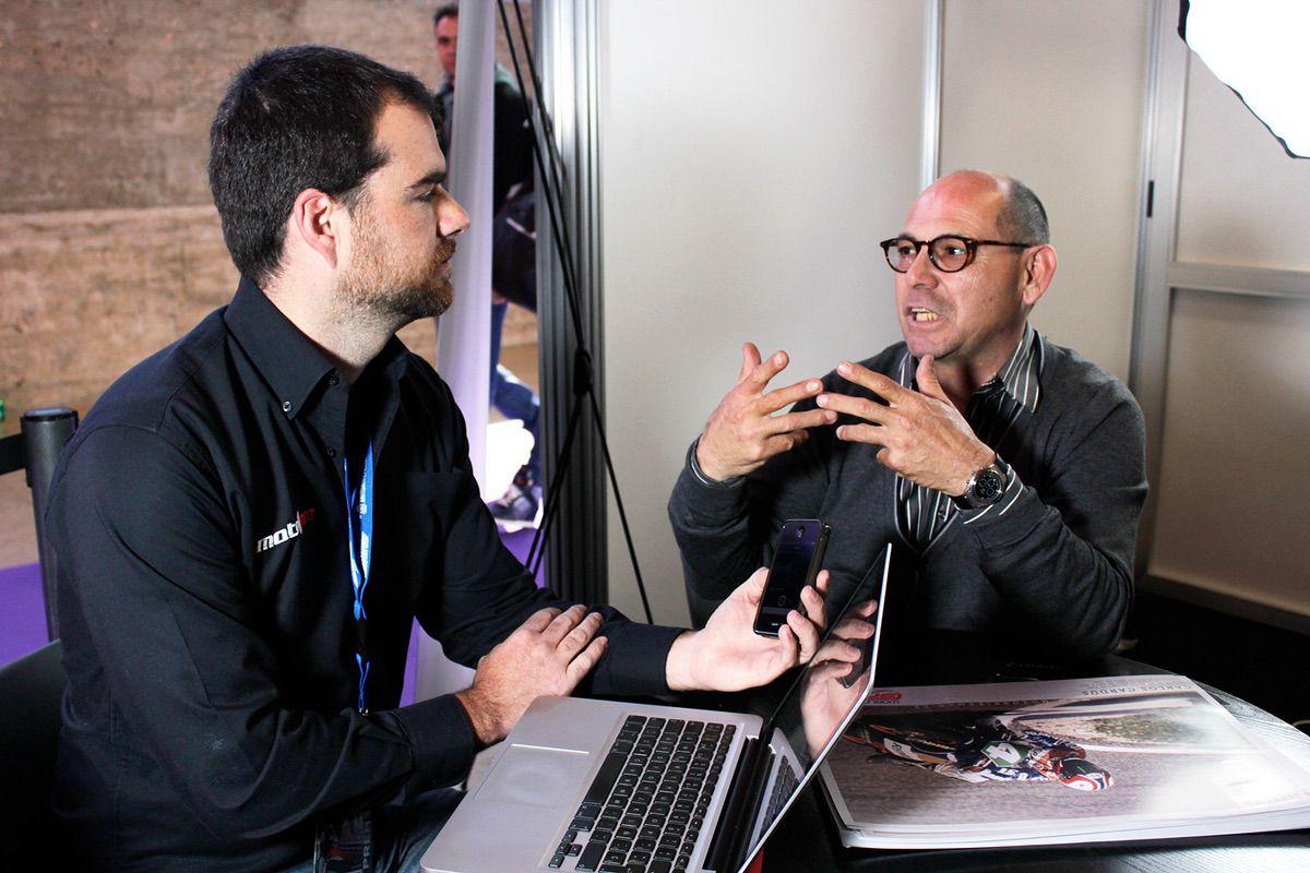 Carlos Cardús y World GP Bike Legends