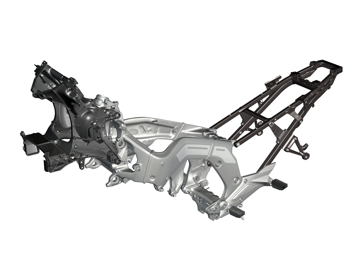 Chasis: El esqueleto de la moto
