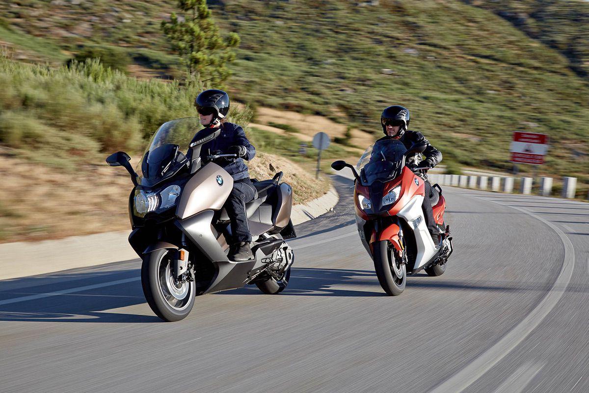 BMW C 650 GT y BMW C 650 Sport