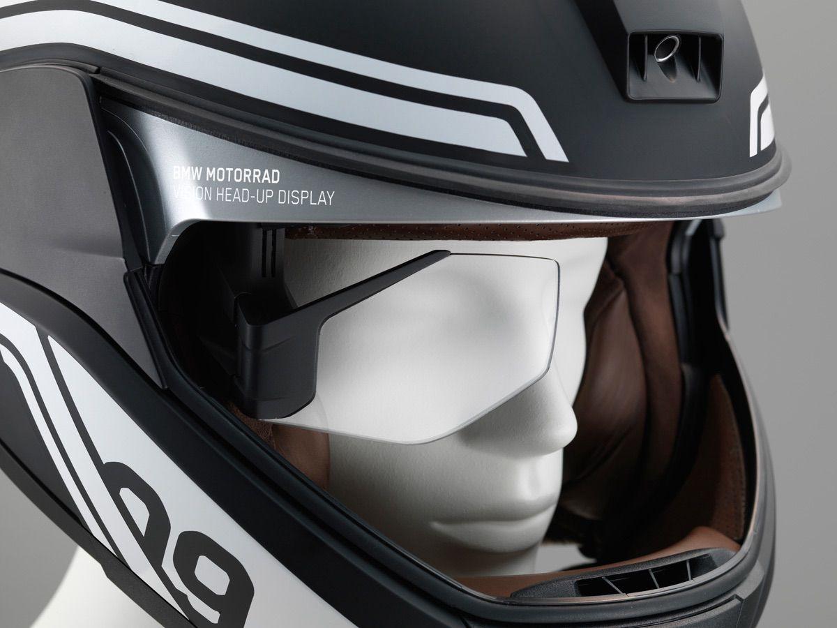 El casco inteligente de BMW