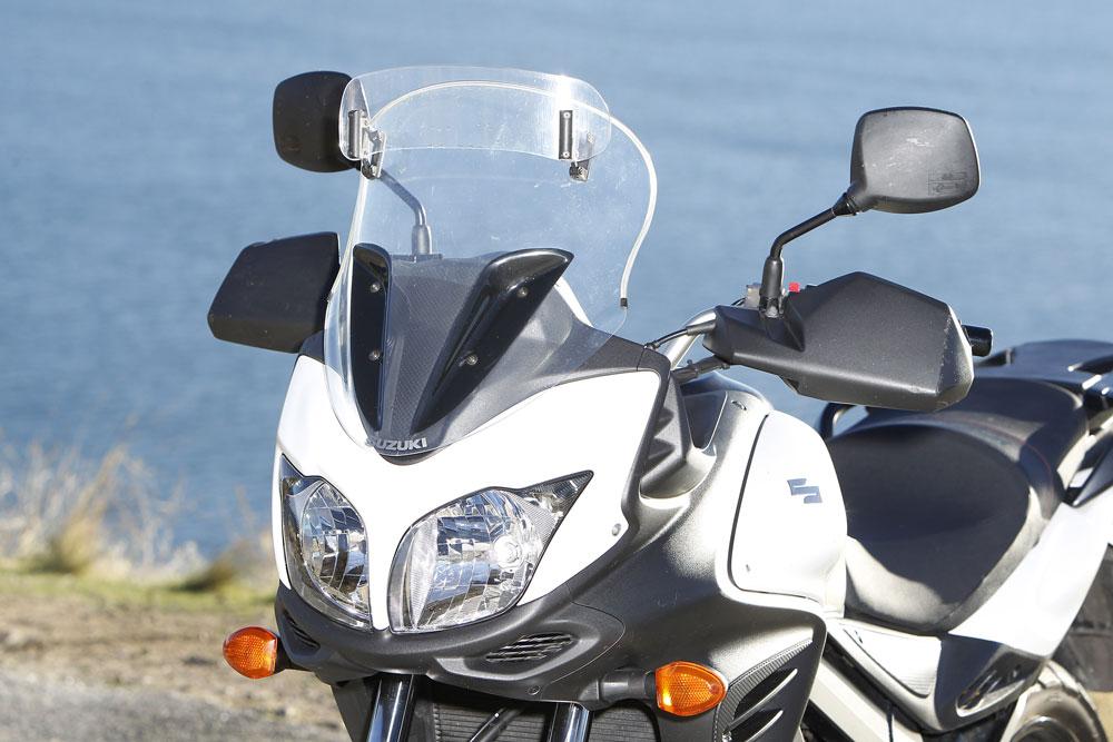 Pantalla opcional de la Suzuki VStrom 650