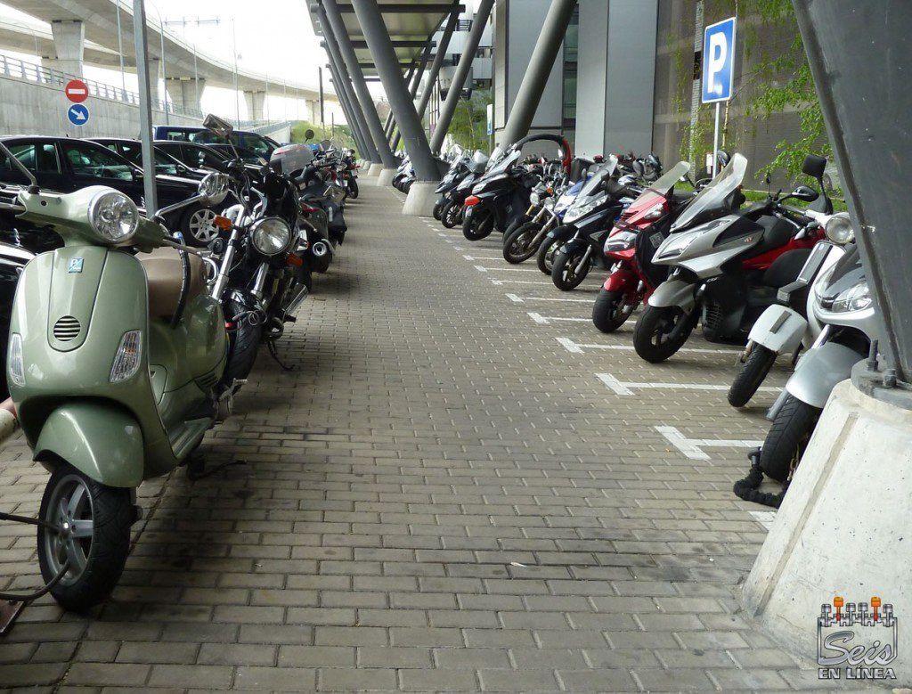 parking motos madrid