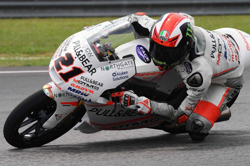 Victoria de Pecco Bagnaia en el GP de Malasia de Moto3