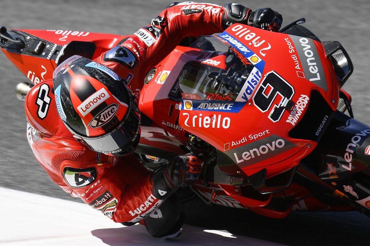 Primera victoria de Danilo Petrucci en MotoGP en el GP de Italia