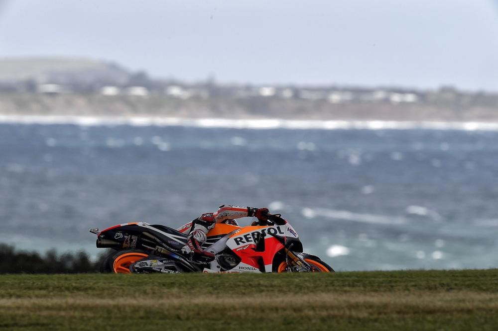El circuito de Phillip Island siempre nos deja bellas imágenes en MotoGP