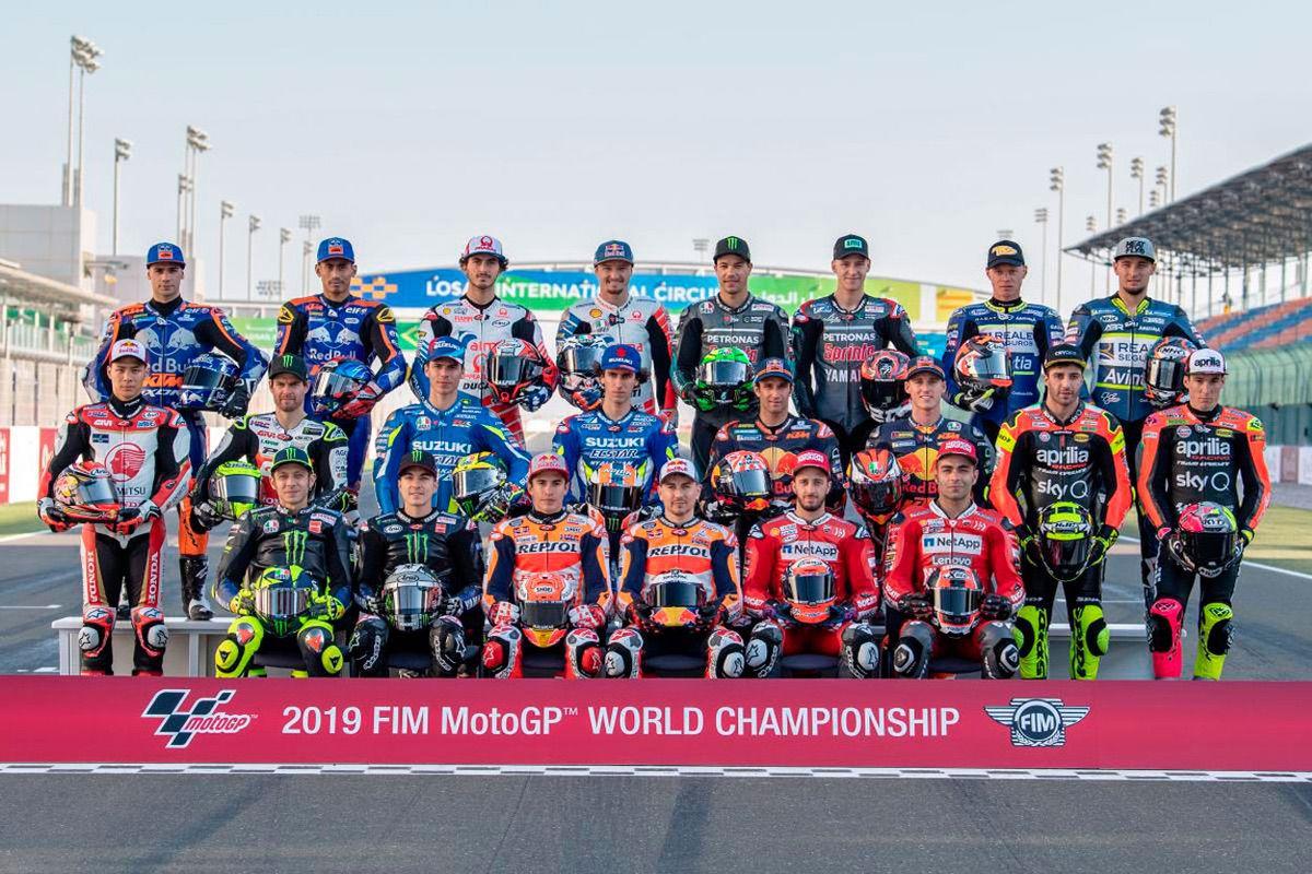 Todos los pilotos MotoGP 2019