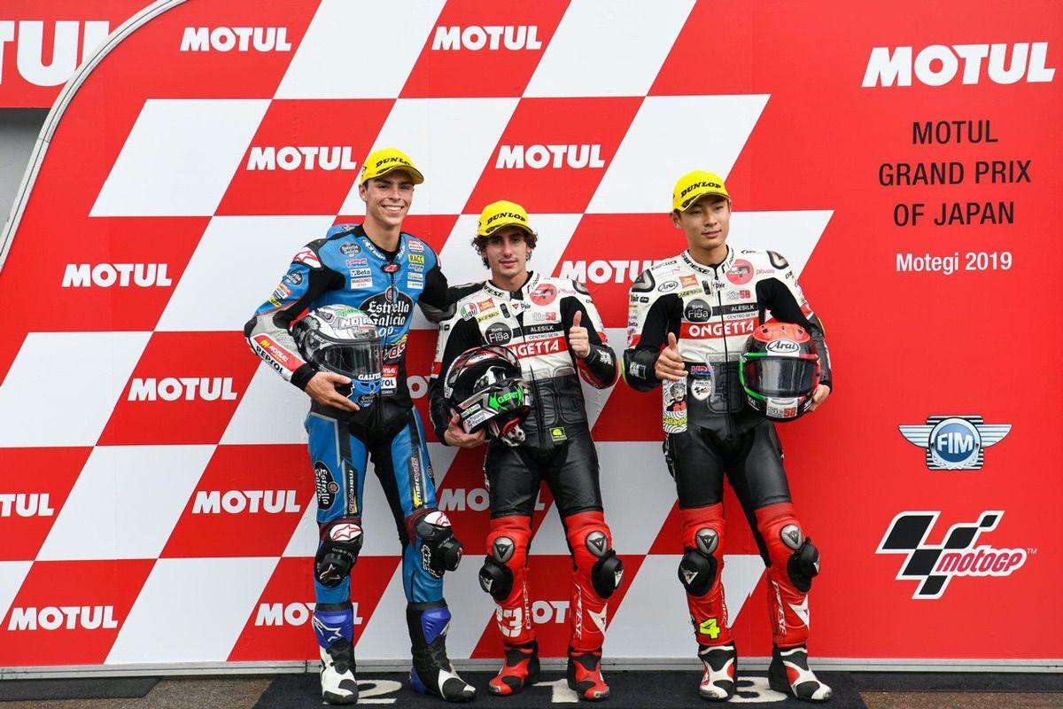 Pole de la categoría Moto3 del Gran Premio de Japón