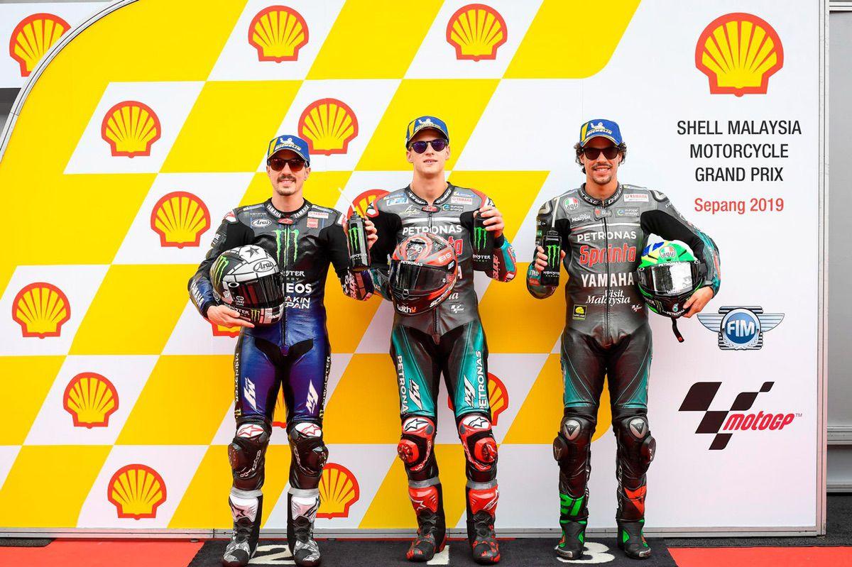 Pole de pilotos Yamaha del Gran Premio de Malasia 2019
