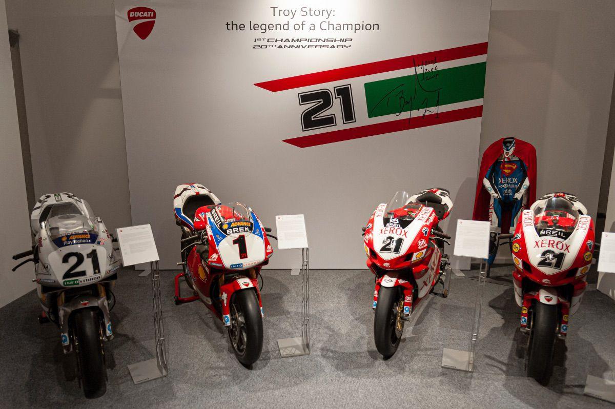 """El Museo Ducati inaugura """"Troy Story: La leyenda de un campeón"""""""