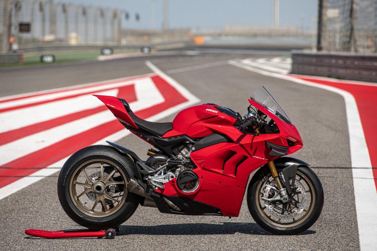 Los nuevos accesorios de Ducati para la Panigale V4
