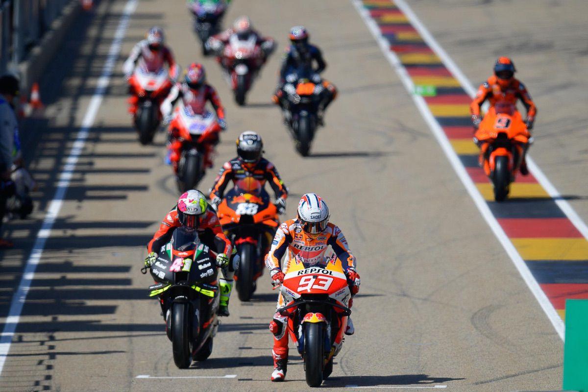 Así está la parrilla de MotoGP para 2022