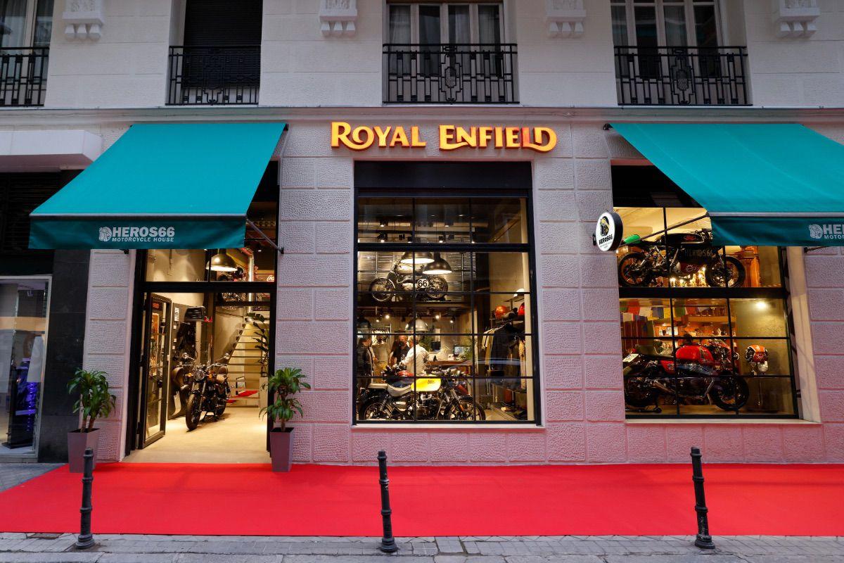 Royal Enfield llega a Madrid con su nueva Concept Store