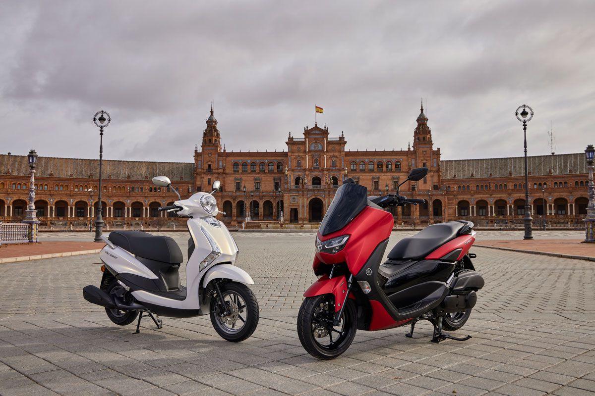 Prueba Yamaha D´light 125 y Yamaha N-Max 125