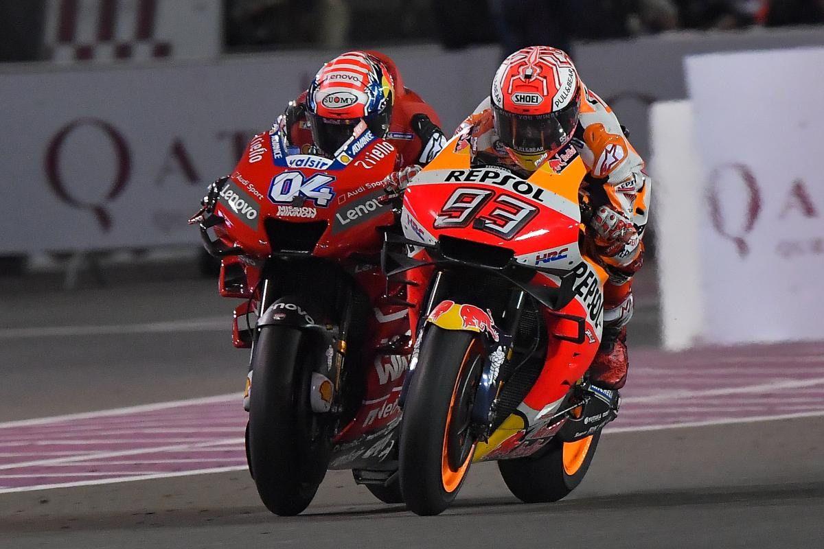 7 de los mejores adelantamientos de la historia de MotoGP