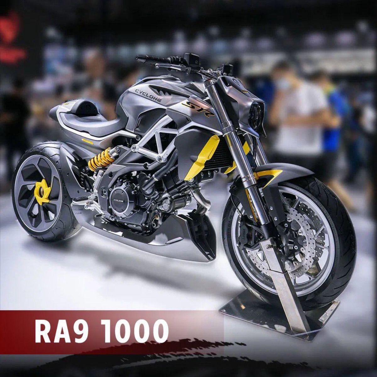 Cyclone RA9: una nueva moto china bicilíndrica de 1000 cc
