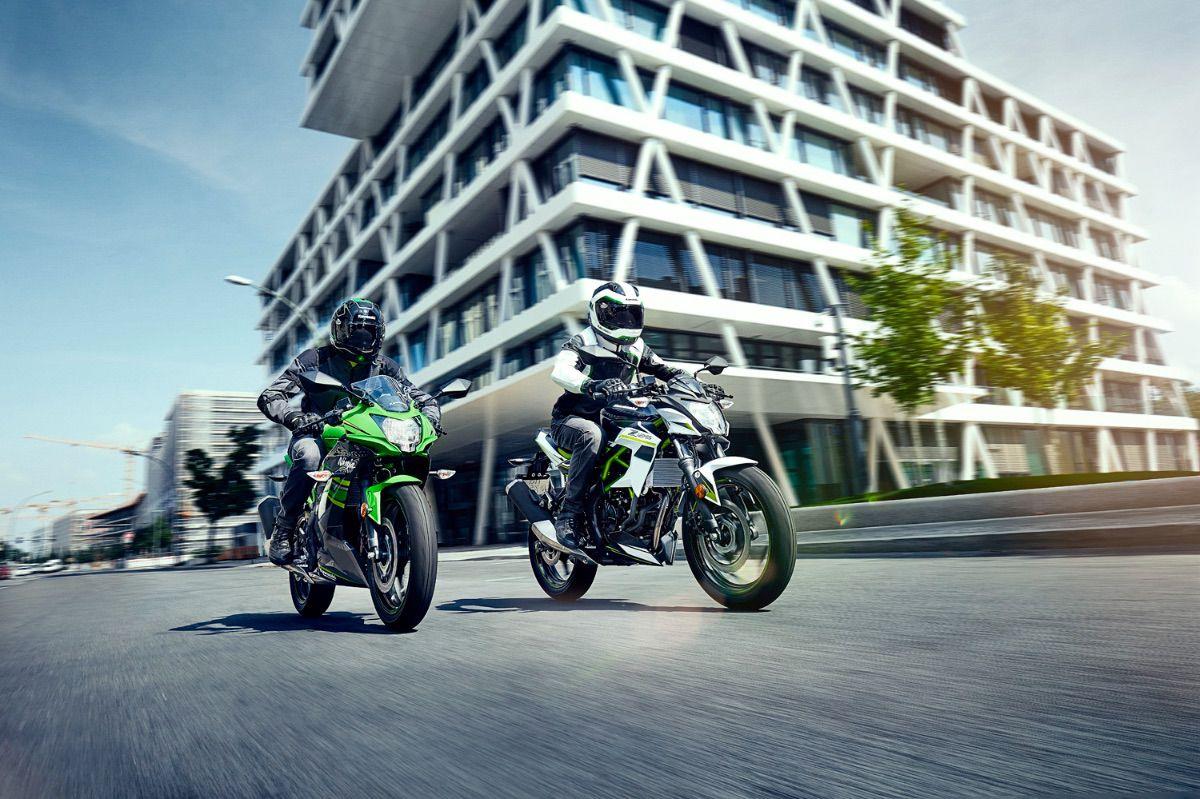 Nuevos colores para las Kawasaki Ninja 125 y Z125 2022