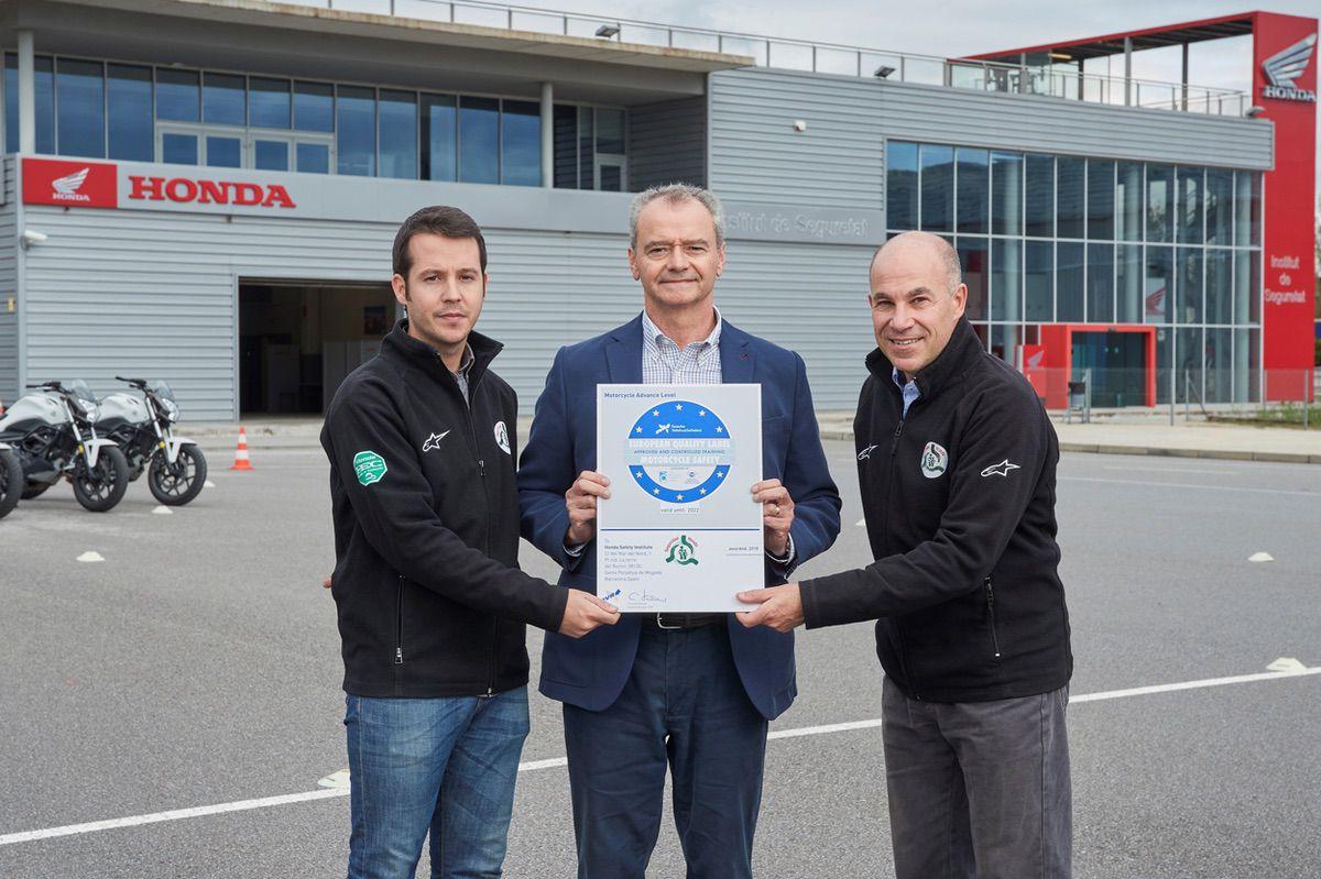 El Instituto Honda para la Seguridad Vial, premiado