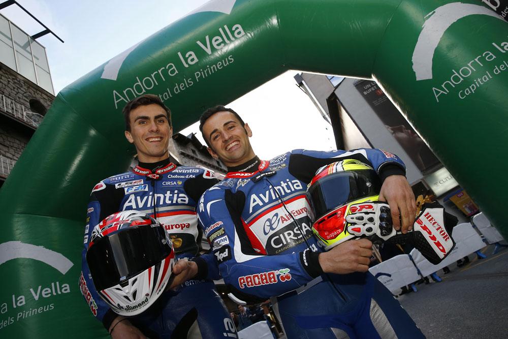 Hector Barbera y Loris Baz, MotoGP