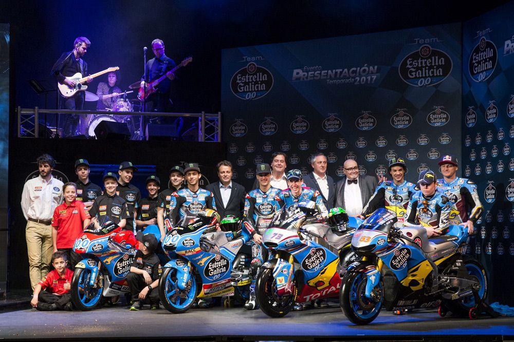 Presentación Equipo Estrella Galicia Mundial de Motociclismo