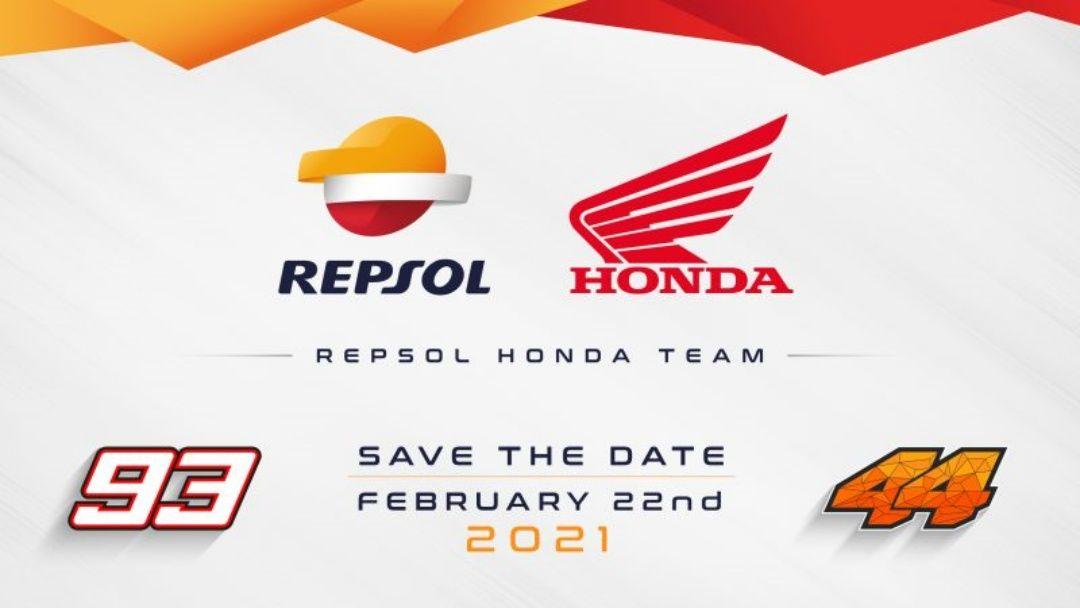 VÍDEO | Presentación en directo del equipo Repsol Honda 2021