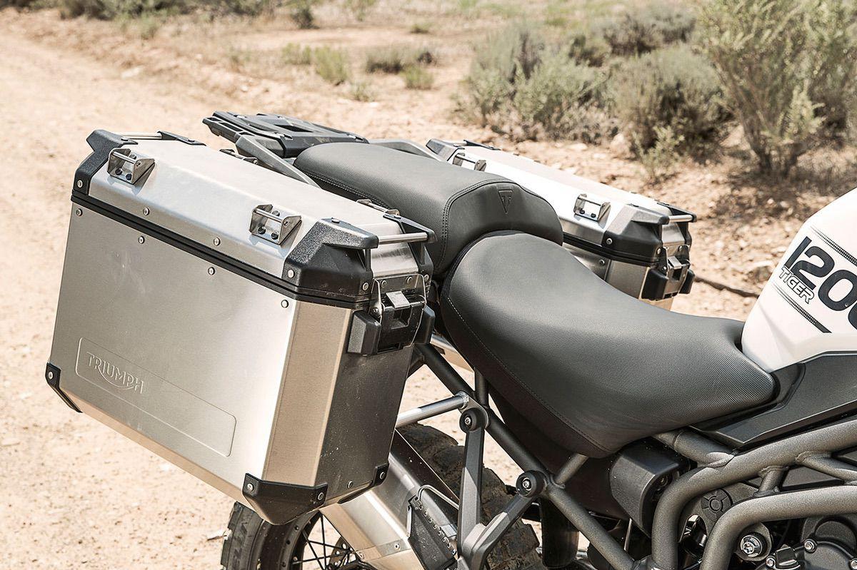 Triumph te regala las maletas en su gama Tiger 800 y 1200
