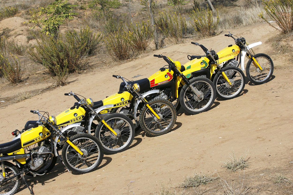 Puch Minicross Museo de la Moto Rafael Lozano