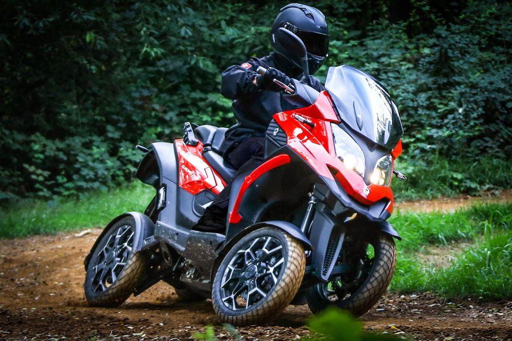 Scooter cuatro ruedas Quadro 4