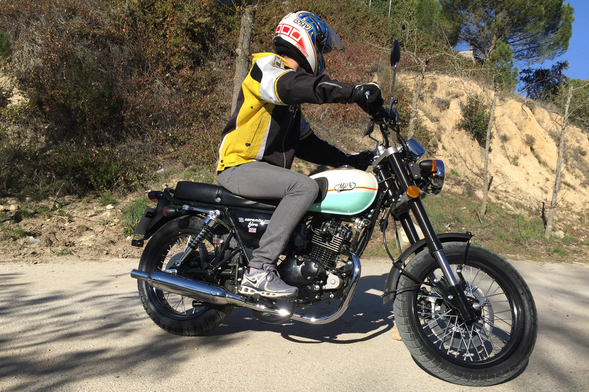 Quiero una moto