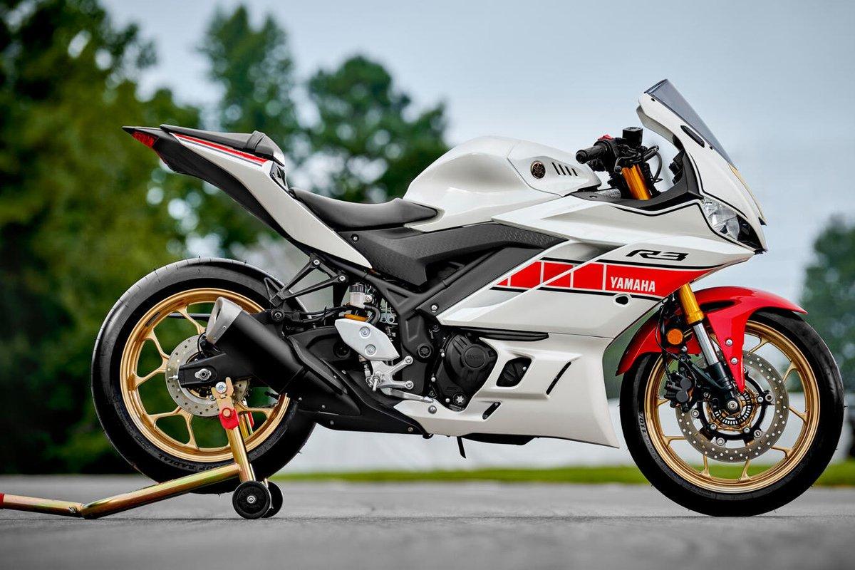 Yamaha R1, R7, R3 y R125 2022: colores racing del 60 aniversario