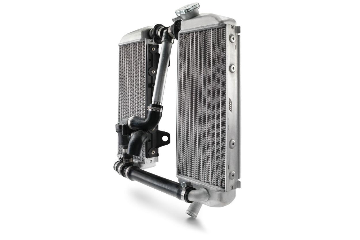 El radiador de nuestra moto
