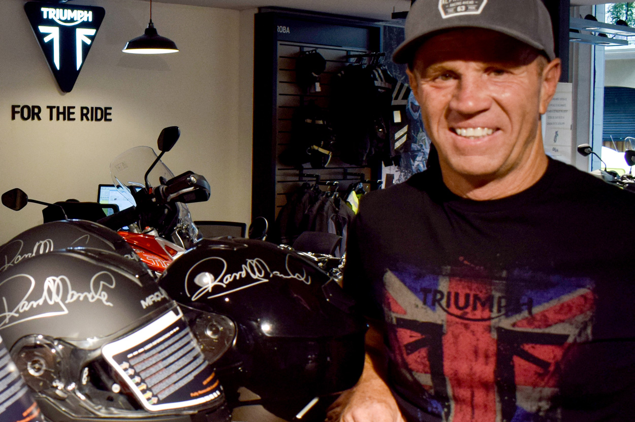 Randy Mamola colabora con Ride Sunday