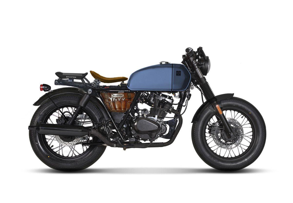 La gama 125cc de Brixton: motores Euro5 y ABS