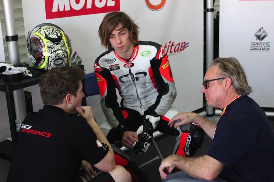Wayne y Remy Gardner en el FIM CEV Repsol Moto2