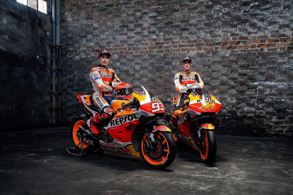 Marc Márquez y Pol Espargaró juntos por primera vez en el Repsol Honda Team