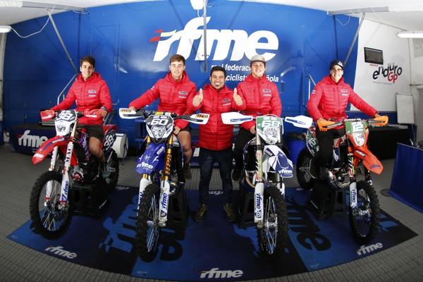 Equipo junior enduro RFME 2018