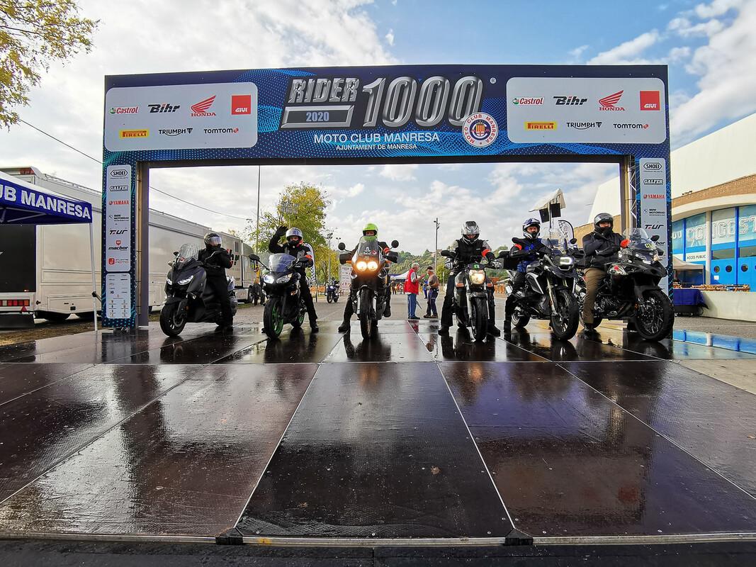 Corver: Patrocinador Oficial de la Rider 1000
